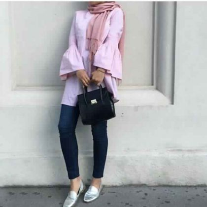 Styles de Hijab moderne et Fashion : Venez Voir Les Meilleurs Modèles !!! 4