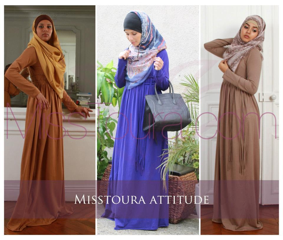 Fabuleux Hijab Mode : 57 Robes Modernes à porter pendant Les Soirées  GW76