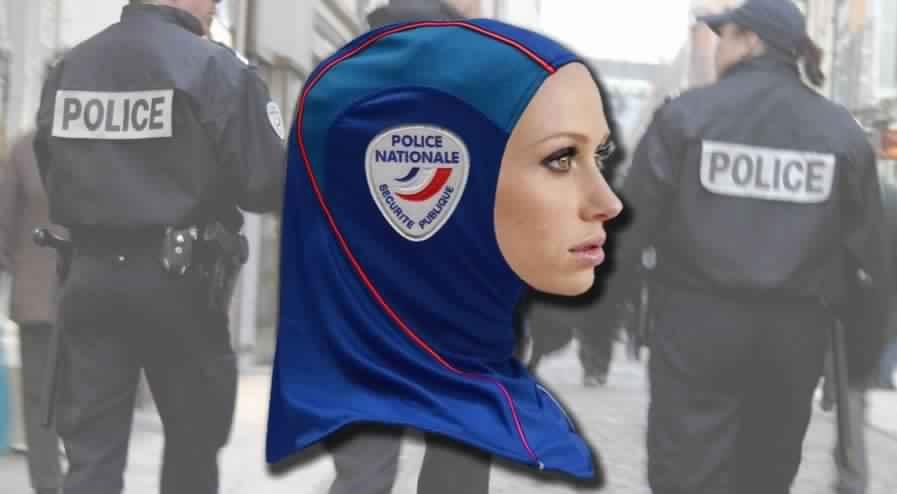 le port du hijab bient t autoris dans la police nationale astuces hijab. Black Bedroom Furniture Sets. Home Design Ideas