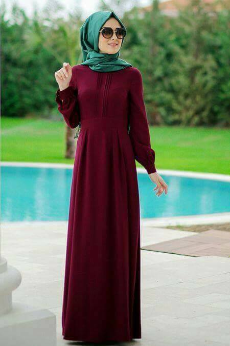 hijab mode 2017   55 robes longues pour femme voil u00e9e chic et  u00e9l u00e9gantes pour votre inspiration