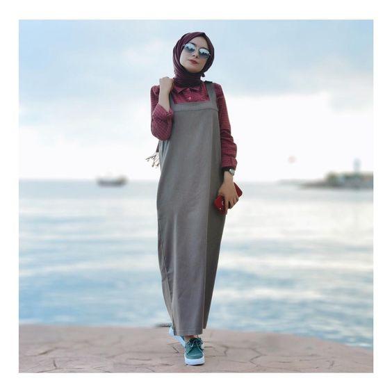 Alors, dans ce post nous vous proposons 55 Styles de robe chemise pour vous  aider à bien porter avec votre look de hijab. inspirez vous!