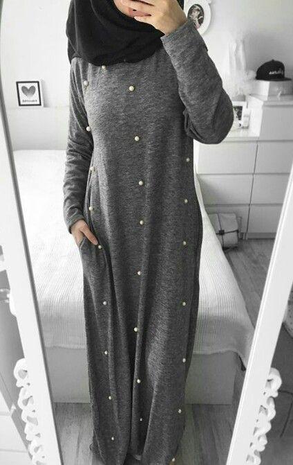 Robe Hijab Pour Hiver Robes L Gantes Pour 2018