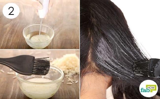 huile de noix masque cheveux