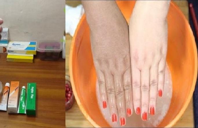 comment eclaircir les mains et pieds