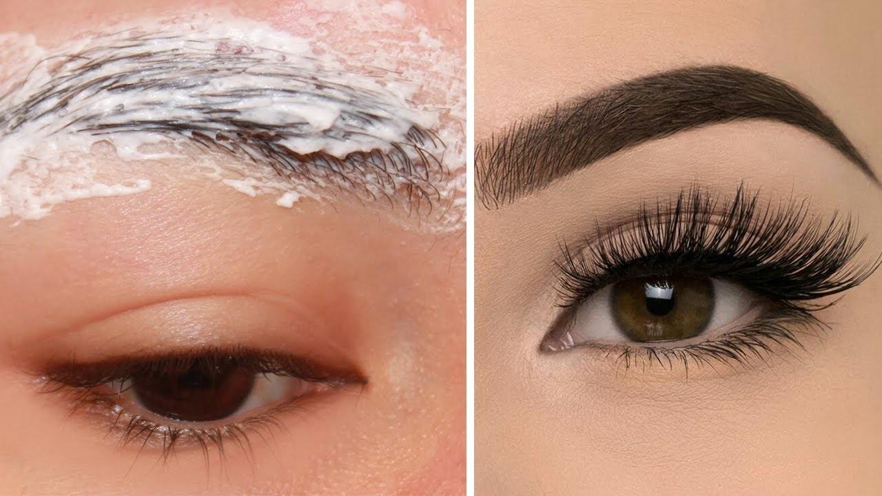 Appliquez cela deux fois par semaine pendant 15 minutes pour avoir des sourcils épais denses et ...