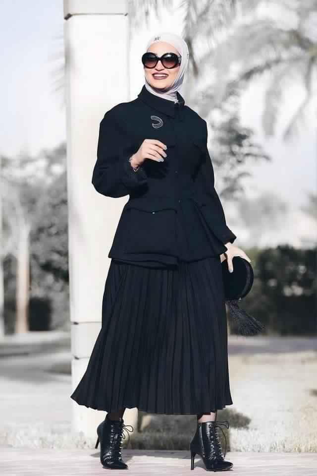 style hijab casual chic 32 tenues confortables pour femmes voil es styl es astuces hijab. Black Bedroom Furniture Sets. Home Design Ideas