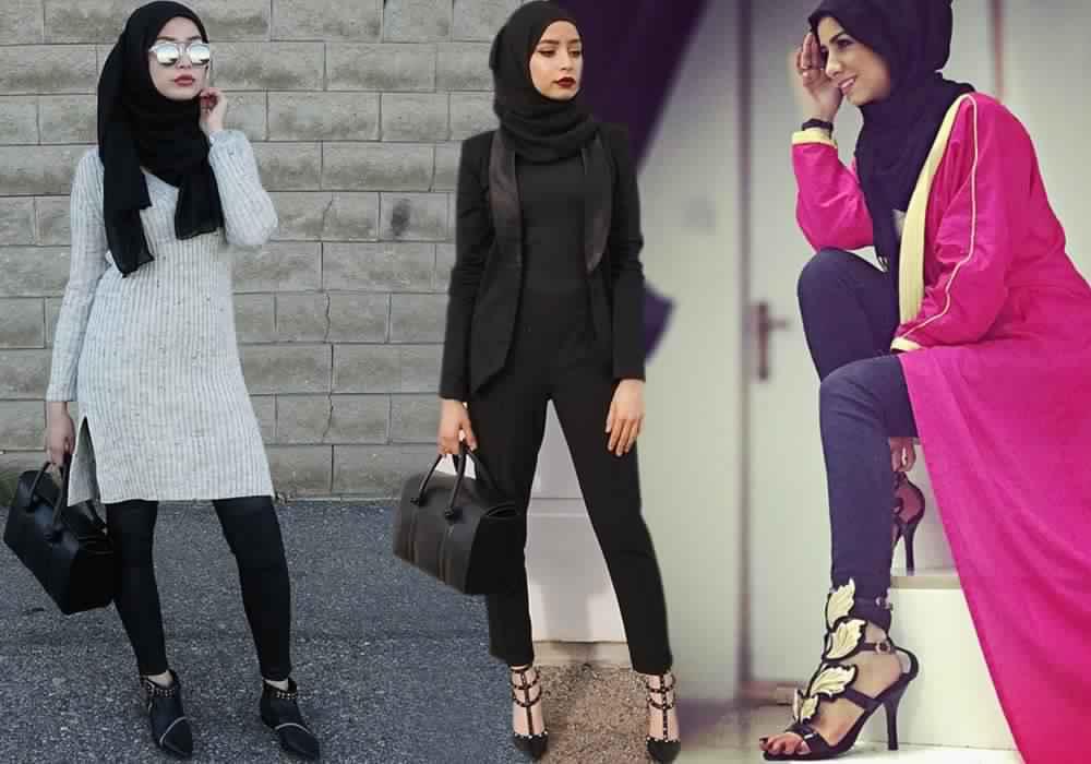 Voici comment porter le pantalon noir si vous tes voil e astuces hijab - Comment raviver un vetement noir ...